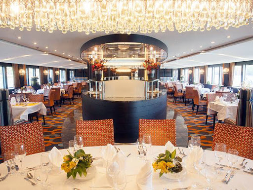 amareina-restaurant.jpg - Enjoy local delicacies in the main restaurant on AmaReina from AmaWaterways.