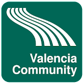 Valencia Community Map offline