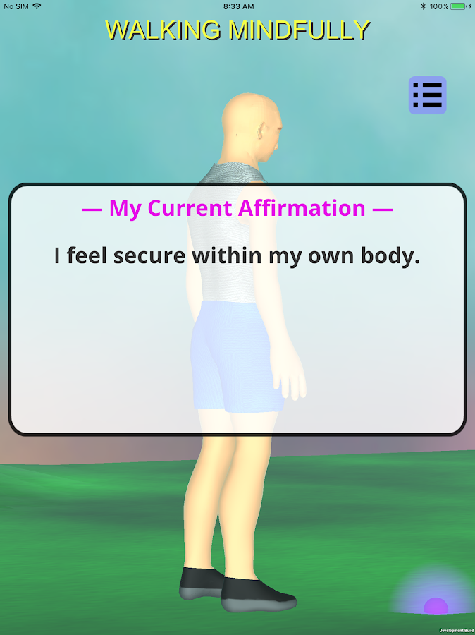 Body-Mind with Affirmations- screenshot