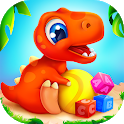 Dinosaur games for kids and toddlers 2 4 years old icon