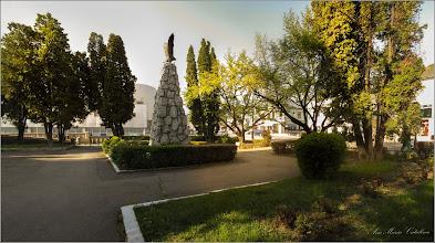 Photo: Turda - Piata Republicii - spatiu verde din fata catedralei - 2019.04.20