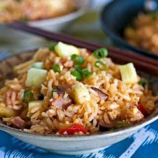 Hawaiian Fried Rice – a Leftover Ham.