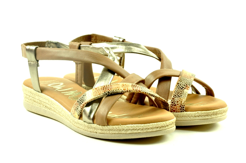 sandaal op sleehakje