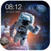 Space Style Live Wallpaper Free