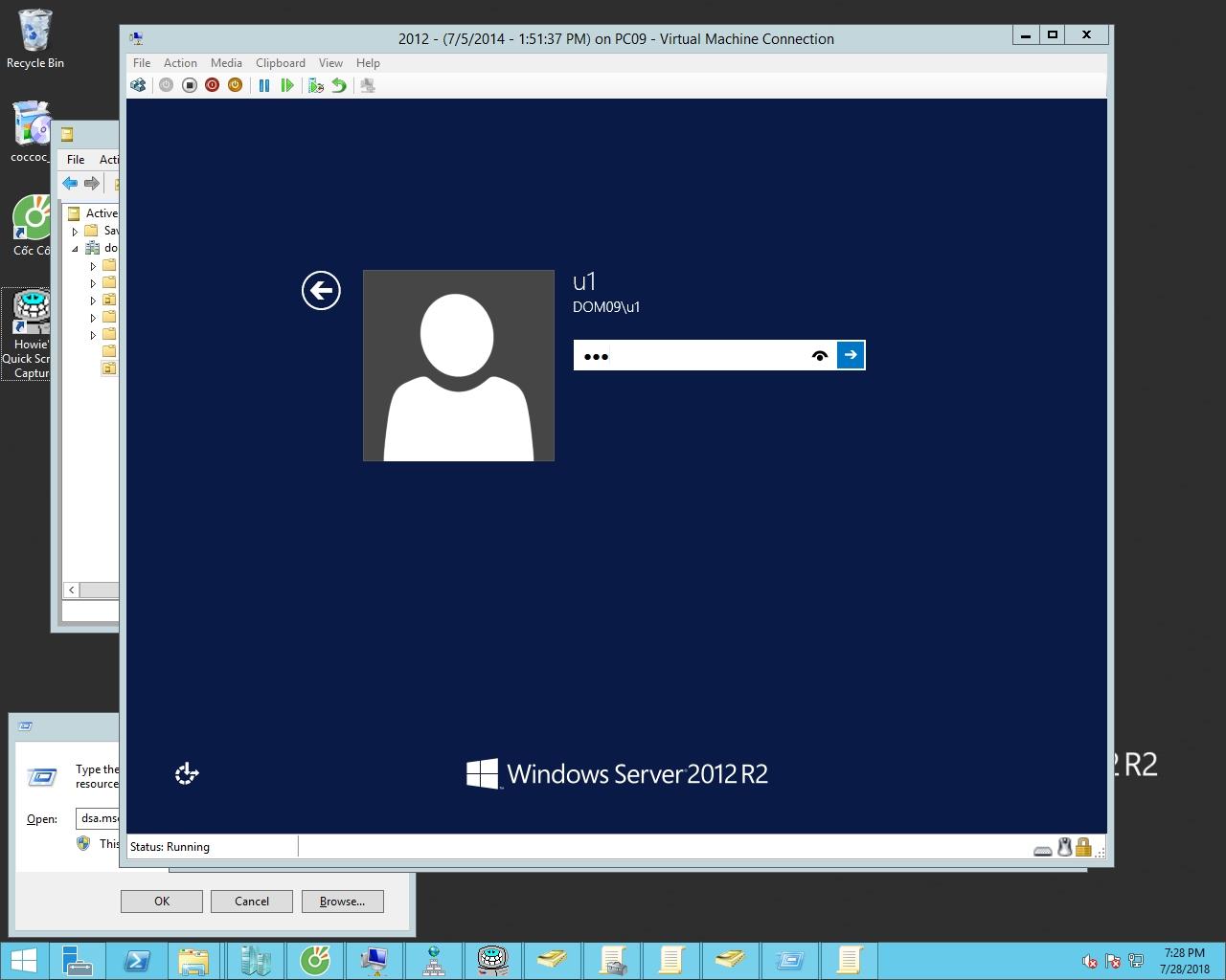 quản trị tài nguyên mạng - home folder 3