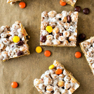Reese's Crispy Cereal Bars.