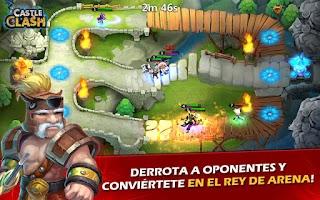 Screenshot of Castle Clash: Era de Leyendas