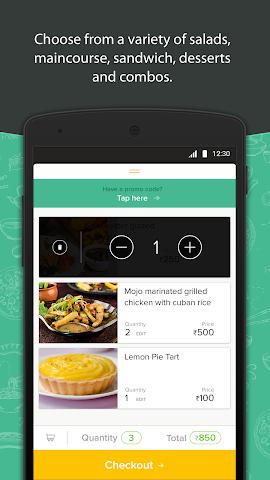 android Freshmenu: Fresh Food Delivery Screenshot 1