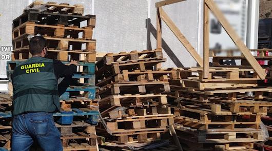 Detienen a un vecino de Viator por robar palets en una empresa de Vícar