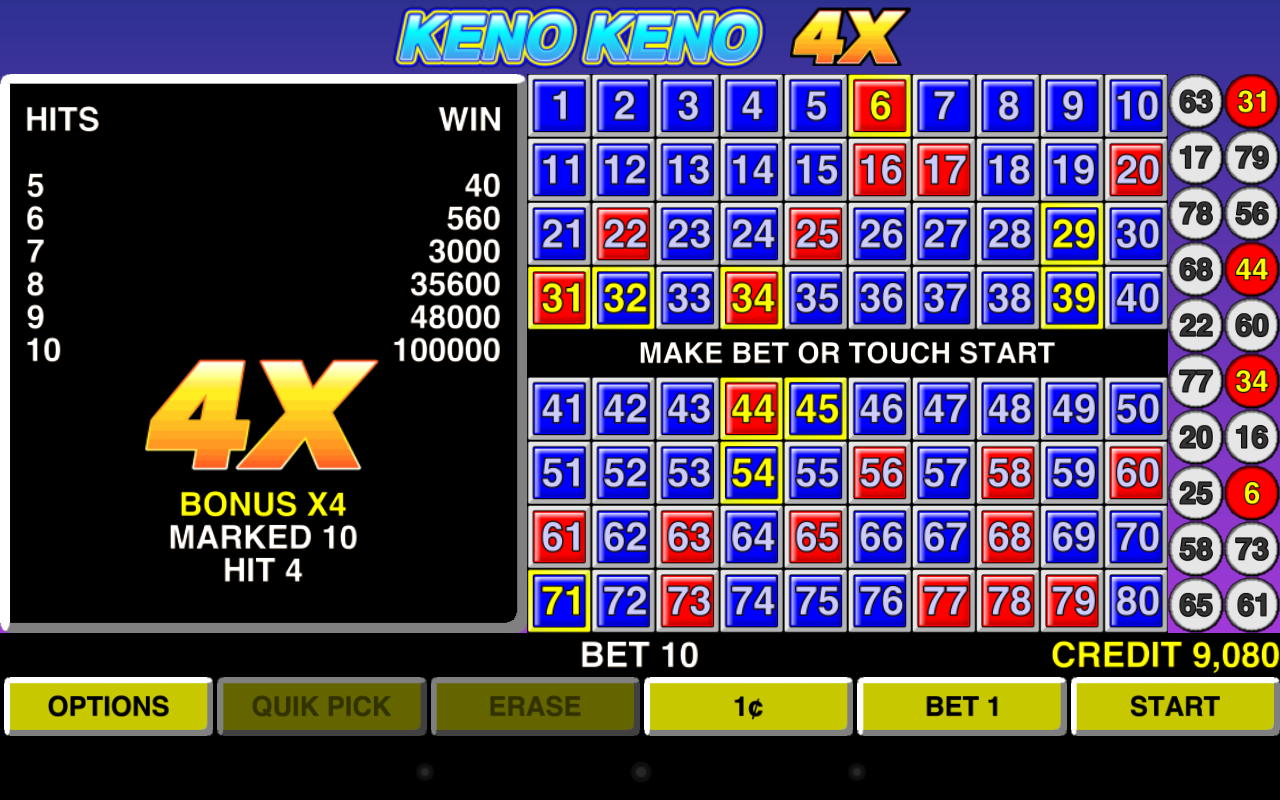 how to win superball keno