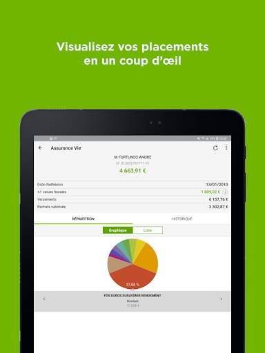 Fortuneo, mes comptes banque & bourse en ligne 8.3.3 Screenshots 10