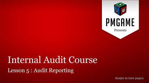 Internal Audit Course Lesson 5
