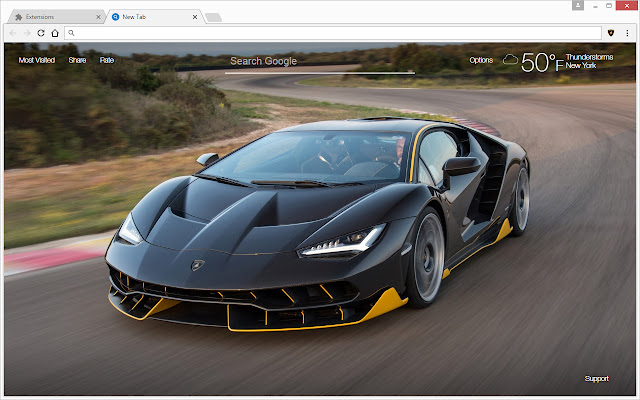 Lamborghini Super Cars HD Wallpapers New Tab - Chrome Web Store