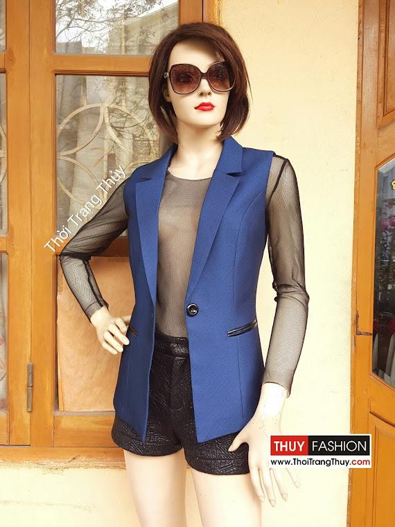Áo vest nữ sát nách mùa thu đông V362 thời trang thủy