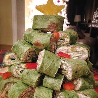 Christmas Tree Sausage Wraps