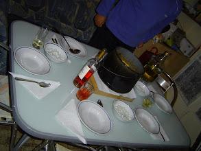 Photo: Az ünnepi asztal.