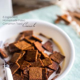 Paleo Cinnamon Toast Crunch {6 Ingredients}