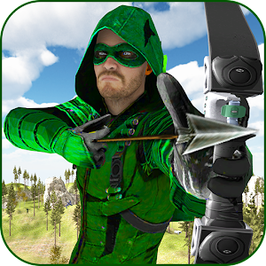 Green Arrow Hero: Crossbow Archery Superhero