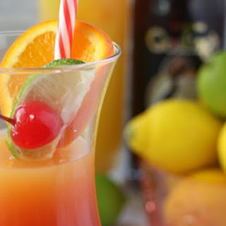 Rum Punch Cocktail.