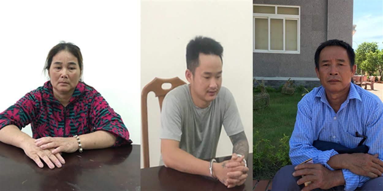 Gia đình bà Trương Thị Đào cùng chồng Phan Ngọc Vinh và con trai Phan Ngọc Kỷ  đều phạm tội mà nguyên nhân xuất phát từ