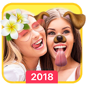Face Filter, Emoji, Selfie Editor - Sweet Camera