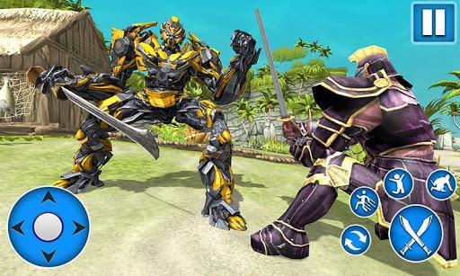 Sword Robot Fighting Game: Sword Robot Hero  captures d'écran 1