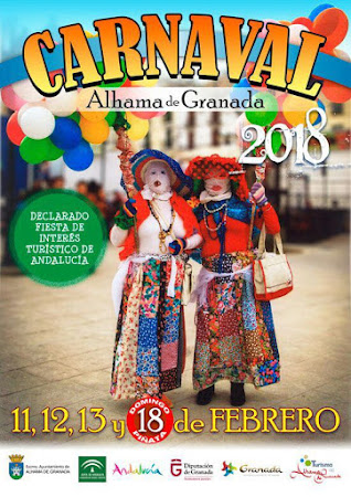 EVENEMENT : Carnaval Alhama de Granada 2018.
