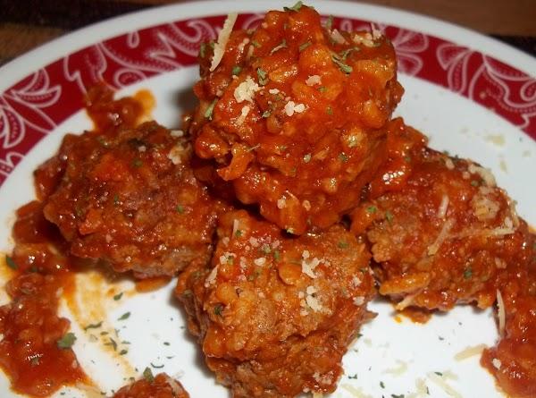 Porcupine Meatballs In Tomato Sauce Recipe