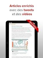 Screenshot of L'Expansion : actu economique