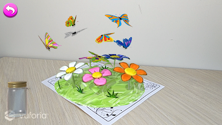 AR Butterflies and Flowers APK screenshot thumbnail 5