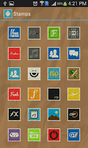 Stamps Icon Pack v1.0