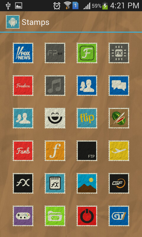 Stamps Icon Pack- screenshot