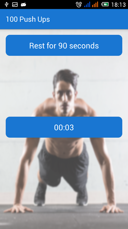 100 Push Ups - στιγμιότυπο οθόνης