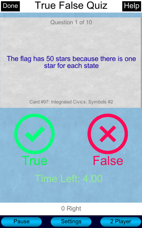 Free US Citizenship Test 2017- screenshot