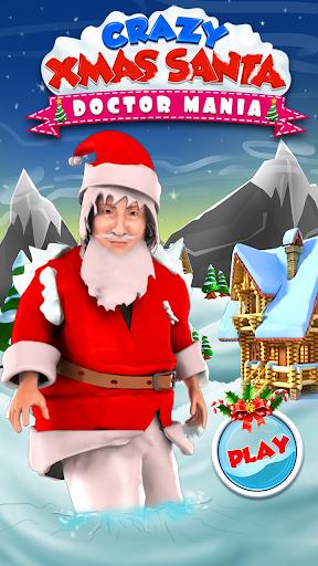 미친 크리스마스 산타 의사 매니아