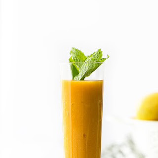 Nourishing Mango Passion Fruit Smoothie Recipe