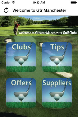 Gtr Manchester Golf Clubs