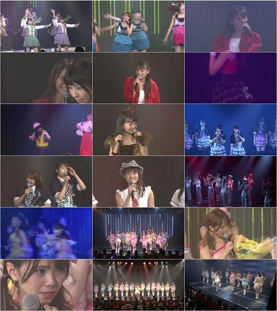 (LIVE)(720p) NMB48 チームM「アイドルの夜明け」公演 磯佳奈江 生誕祭 Live 720p 170809