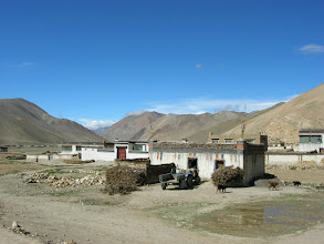 Photo: Tibetan village