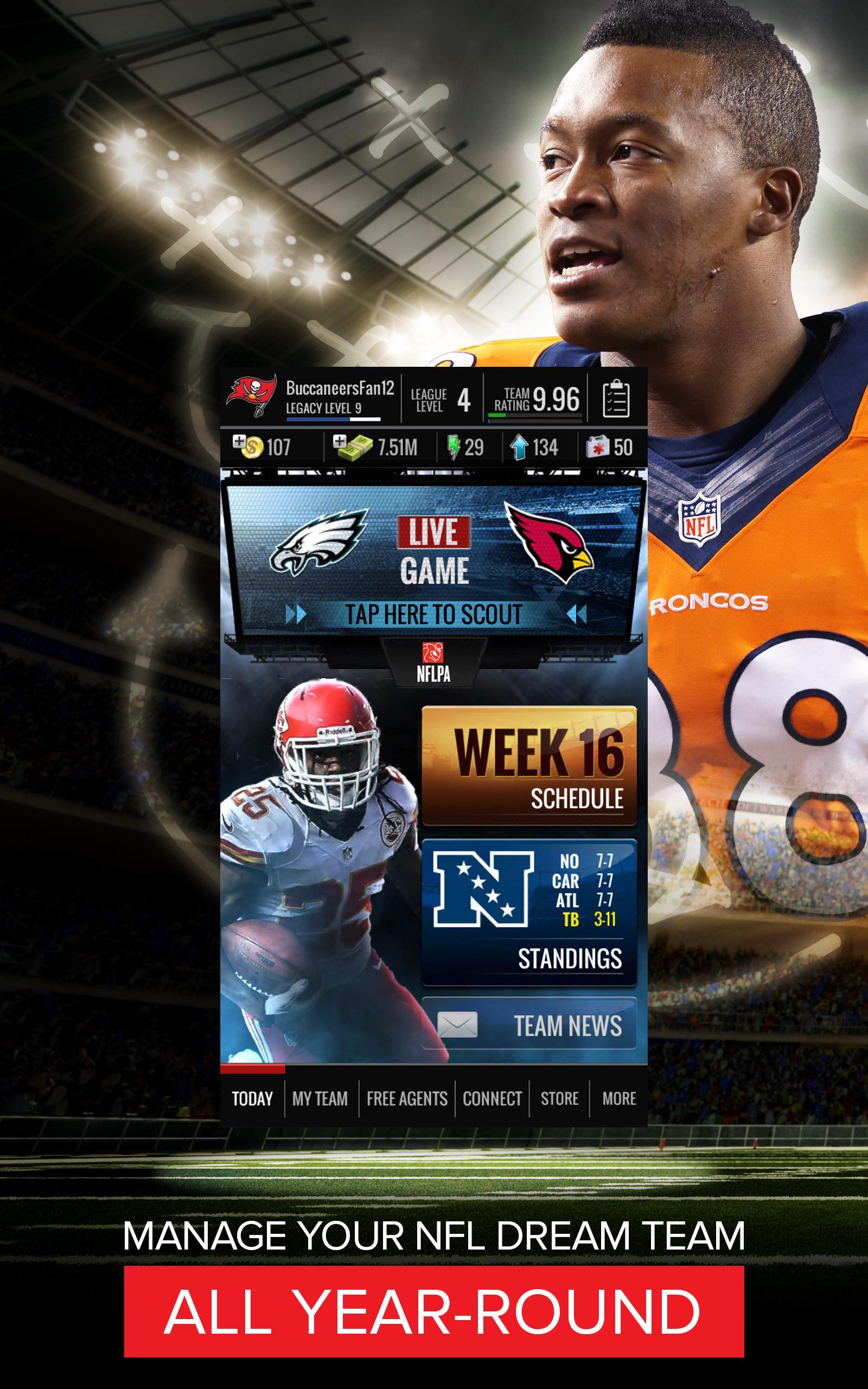 NFL Showdown: Football Manager screenshot #6