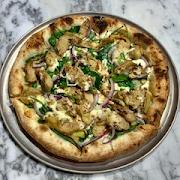 Artichoke and Spinach Pizza