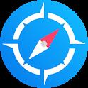 Compass Pro: GPS Coordinates - GPS Navigation icon