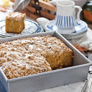 Butternut Squash Crumb Cake.