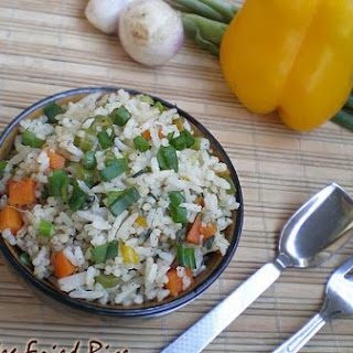 Close To Restaurant Style Veg Fried Rice!!