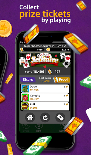 Solitaire - Make Free Money and Play the Card Game apkmr screenshots 3