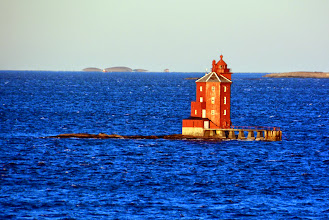 Photo: One of the oldest remaining lighthouses in Norway - circa 1880