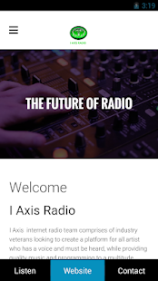 I Axis Radio- screenshot thumbnail