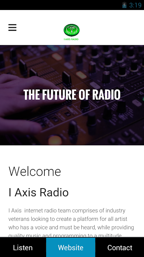 I Axis Radio- screenshot