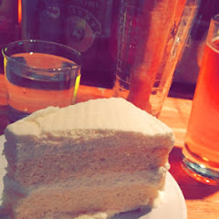 Red bridge sorghum beer, bread sticks, and tres leche cake!