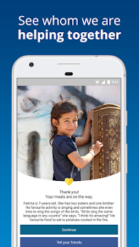 ShareTheMeal - सहायता बच्चों APK screenshot thumbnail 4